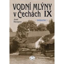 Vodní mlýny v Čechách IX., Doplňky a dodatky: Josef Klempera a kolektiv