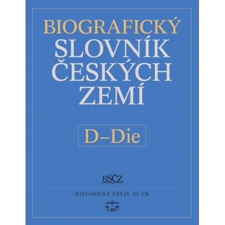 Biografický slovník českých zemí, 12. sešit, D–Die: Pavla Vošahlíková a kolektiv