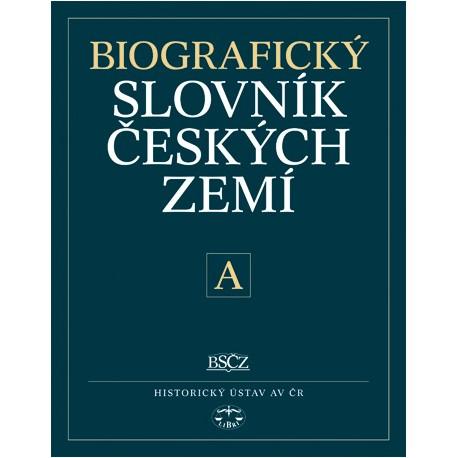 Biografický slovník českých zemí, 1. sešit (písmeno A): kolektiv DEFEKT-poškozené desky