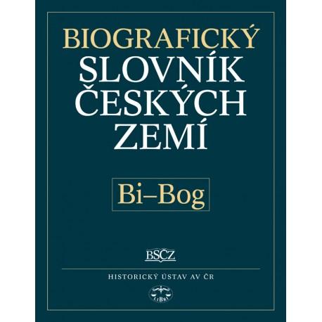 Biografický slovník českých zemí, 5. sešit (Bi–Bog): Pavla Vošahlíková a kolektiv E-KNIHA