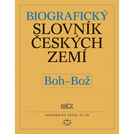 Biografický slovník českých zemí, 6. sešit (Boh–Bož): Pavla Vošahlíková a kolektiv