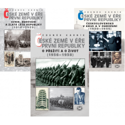 České země v éře první republiky - 3 svazky: Zdeněk Kárník