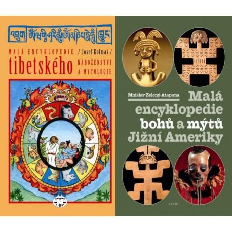 MYTOLOGIE - BALÍČEK (Malá encykl. bohů a mýtů Jižní Ameriky + Malá encykl. tibetského náboženství)