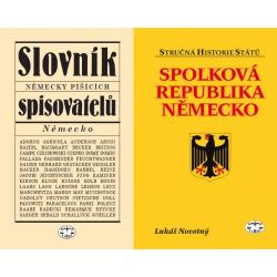NĚMECKO - BALÍČEK (Spolková republika Německo + Slovník německy píšících spisovatelů)