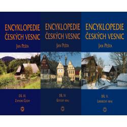 VESNICE - BALÍČEK (Encyklopedie českých vesnic III. + IV. + V.)