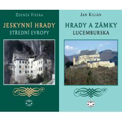 HRADY - BALÍČEK (Jeskynní hrady střední Evropy + Hrady a zámky Lucemburska)