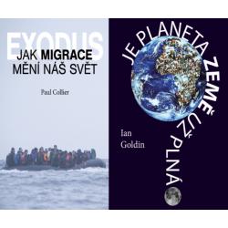 PŘEKLADOVÝ BALÍČEK I. (Exodus. Jak migrace mění náš svět + Je planeta Země už plná?)