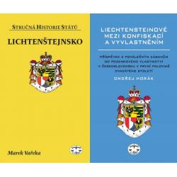 LICHTENŠTEJNSKO - BALÍČEK (Lichtenštejnsko SHS + Liechtensteinové mezi konfiskací a vyvlastněním)
