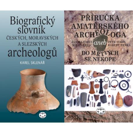 ARCHEOLOGIE - BALÍČEK (Biografický slovník čes., mor. a slezs. archeologů + Příručka amatérského archeol. 2., upr.)