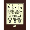 Města a městečka v Čechách, na Moravě a ve Slezsku A-Ž (1.-8. díl): Karel Kuča