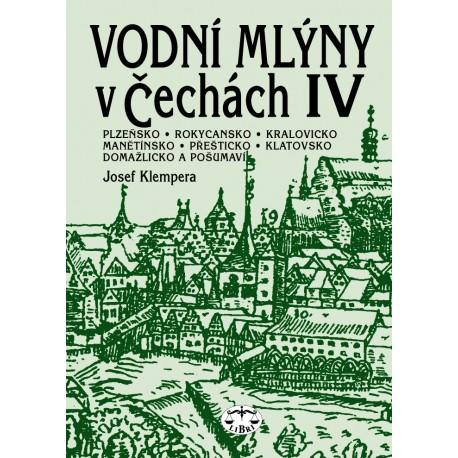 Vodní mlýny v Čechách IV.: Josef Klempera