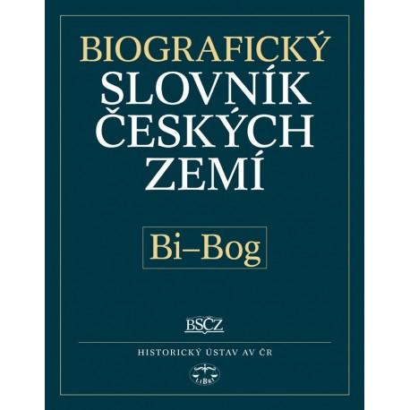 Biografický slovník českých zemí, 5. sešit (Bi–Bog): Pavla Vošahlíková a kolektiv