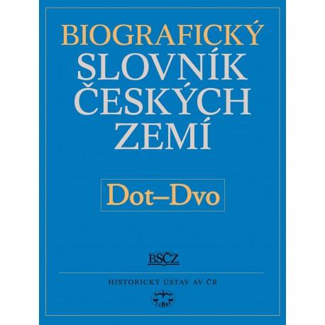 Biografický slovník českých zemí, 14. sešit Dot−Dvo: Pavla Vošahlíková a kolektiv