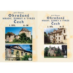 Ohrožené hrady, zámky a tvrze Čech - KOMPLET I. a II. díl: Jiří Úlovec