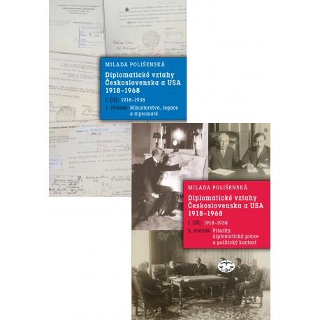 Diplomatické vztahy Československa a USA 1918–1968, I. díl – 1. a 2. svazek: Milada Polišenská
