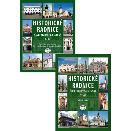 Historické radnice Čech, Moravy a Slezska 1+2 díl: Zdeněk Fišera, Karel Kibic