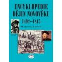 Encyklopedie dějin novověku 1492-1815: Miroslav Hroch a kolektiv - DEFEKT - ZAŠPINĚNÉ STRÁNKY