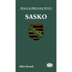 Sasko: Miloš Řezník (stručná historie států) - DEFEKT - POŠKOZENÉ DESKY