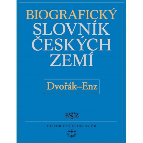 Biografický slovník českých zemí, 15. sešit (Dvořák–En): Pavla Vošahlíková a kolektiv E-KNIHA