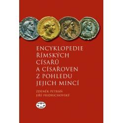 Encyklopedie římských císařů a císařoven z pohledu jejich mincí: Zdeněk Petráň, Jiří Fridrichovský - DEFEKT - POŠKOZENÉ DESKY